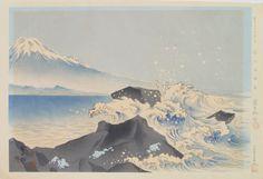 Tokuriki Tomikichirō The Coast Below Satta-Toge from the series Thirty-six Views of Mt. Fuji, 1939-1940