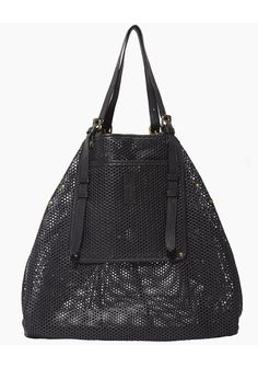 perforated black bag // Jerome Dreyfuss