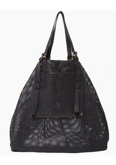 perforated black bag // Jerome Dreyfuss