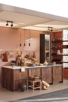 industrial home decor Modern Interior Design, Interior Design Inspiration, Room Inspiration, Modern Restaurant, Minimalist House Design, Minimalist Home, My Living Room, Home And Living, Merci Store