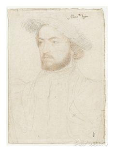 Portrait de François de Rohan, seigneur de Gié (1515-1560) reproduction procédé giclée par Jean Clouet