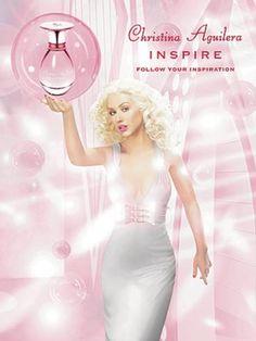 Christina Aguilera Inspire Perfume Ad