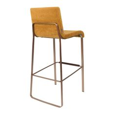 Buy the Dutchbone Flor Bar Stool today! Nightclub Design, Upholstered Bar Stools, Modern Bar Stools, Kitchen Stools, Kitchen Island, Vintage Bathrooms, Home Decor Kitchen, Foot Rest, Country Decor