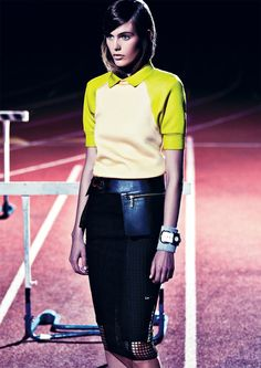 Gorgeous leather skirt Michael Kors Marc Jacobs Kakaan Nike