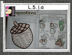 Grade Language Interactive Notebook (aligned with the Common Core) Interactive Reading Journals, Reading Notebooks, Interactive Student Notebooks, Stars Classroom, 2nd Grade Classroom, Classroom Fun, Teaching Language Arts, Classroom Language, Teaching Writing