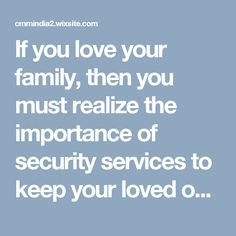 If you love your family, then you must realize the importance of security services to keep your loved one's safe and secure. Doubtlessly you will understand that there's an accessibility of dozen of choices available in the market from where you can select IP camera dealer of your choice to bring best for you. Love Your Family, Security Service, Ip Camera, Choices