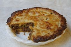Bella's Slow cooked Lamb and Parsnip Pie with Sour Cream Pastry, as seen on Sunrise