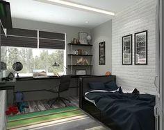 подростковая комната для мальчика , комната студента: 17 тыс изображений найдено в Яндекс.Картинках
