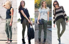 o que vestir com calças verde tropa - Pesquisa Google