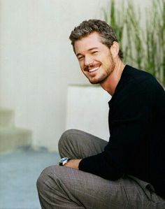42 Ideas hair grey men eric dane for 2019 Mark Sloan, Eric Dane, Dark Red Ombre, The Last Ship, Hottest Male Celebrities, Celebs, Cinema, Smiling Man, Hooray For Hollywood