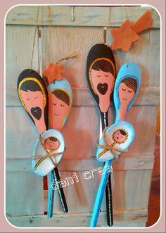 Qualche giorno fa sono an Nativity Crafts, Christmas Nativity, Noel Christmas, A Christmas Story, Simple Christmas, Christmas Ornaments, Bible Crafts For Kids, Christmas Crafts For Kids To Make, Xmas Crafts