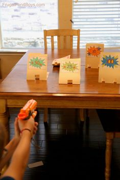 How to Make File Folder Pop-Up Nerf Targets – Frugal Fun For Boys and Girls