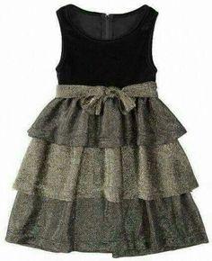 Little Dresses, Little Girl Dresses, Cute Dresses, Girls Dresses, Little Girl Fashion, Kids Fashion, Robes Vintage, Kids Frocks, Frock Design