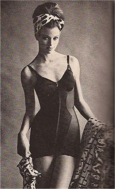 1960s girdle. Vintage lingerie