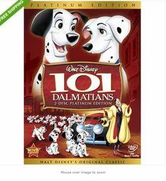 101 Dalmatians DVD 2008 2 Disc Set Platinum Edition 786936735413   eBay