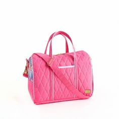 Cross-Country Duffel, Calypso Pink - free shipping @organizingstore