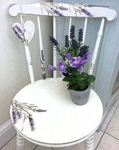 """Receive terrific pointers on """"shabby chic furniture diy"""". They are readily available for you on our internet site. Whimsical Painted Furniture, Shabby Chic Furniture, Vintage Furniture, Shabby Chic Homes, Shabby Chic Decor, Furniture Makeover, Diy Furniture, Furniture Chairs, Furniture Outlet"""