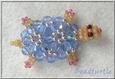 Pattern bijoux: Beaded Turtle