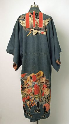 Kimono  Date: second quarter 20th century Culture: Japanese Medium: cotton, rayon