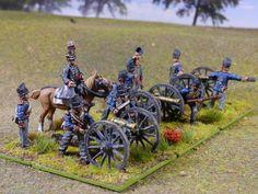 Artiglieri e cannoni inglesi da 6 libbre