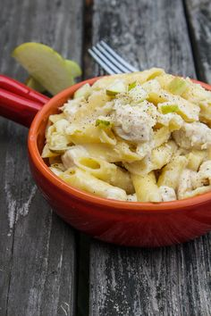 Apple n Swiss Mac & Cheese | Horses & Heels