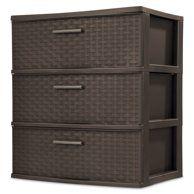 Sterilite 23018006 16 Quart Modular Stacking Storage Drawer