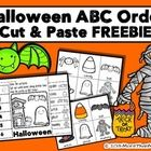 Download this FREEBIE and let students practice their alphabetizing skills using Halloween vocabulary. Halloween ABC Order Cut and Paste Printable—...