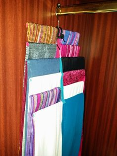 Organise your scarves by using our Scarf Hanger, visit www.hanger-management.co.uk . Take advantage of our Ramadan offer, 2 / 3 days left, so buy now!!!