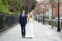 Classic Wedding In Dublin Featuring A Jenny Packham Bride