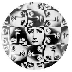 Discover the Fornasetti Tema e Variazioni Wall Plate - No.275 at Amara