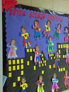 A superhero themed classroom is a fun idea for classroom organization and classroom decor. Superhero classroom decor ideas are gathered up in this blo. - My Website 2020 Superhero Classroom Decorations, Classroom Displays, Classroom Organization, Superhero Bulletin Boards, Superhero School Theme, Superhero Door, Classroom Fun, Book Corner Classroom, Bulletin Board Ideas For Teachers
