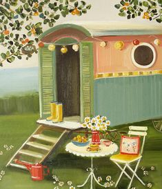 """The Summer Caravan"" by Janet Hill"