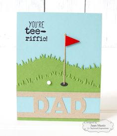 Tee-riffic Dad by Jean Manis*