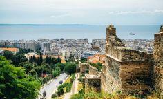 Learn all about the Museum of Byzantine Culture in Thessaloniki, Greece. Thessaloniki, Greece Travel, Byzantine, Walking Tour, San Francisco Skyline, Paris Skyline, The Neighbourhood, Museum, Europe