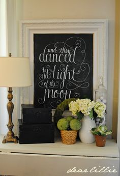 Dear Lillie: And They Danced by the Light of the Moon