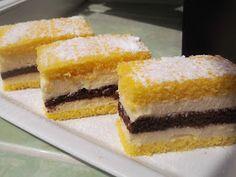 """Hellena ...din bucataria mea...: Prajitura """"Felie de lamaie"""" Cornbread, Cheesecake, Ethnic Recipes, Desserts, Millet Bread, Tailgate Desserts, Deserts, Cheesecakes, Postres"""