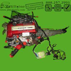 JDM 90-95 Nissan SR20DET TURBO S13 240SX Redtop Engine & Manual Transmission