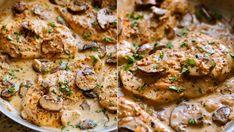 Kuřecí prsa v krémové omáčce jsou skvělým jídlem na zahřátí. Pokud navíc přidáte víc chilli vloček, teplo vám bude o to větší! :)