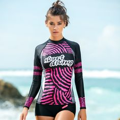 f3783b74ed8 Sbart Rash Guard Women Rashguard Swimming Suit For Female Windsurf Wind  Surf Windsurfing Korea New Black Sports Long Sleeve Sunf-in Rash Guard from  Sports ...