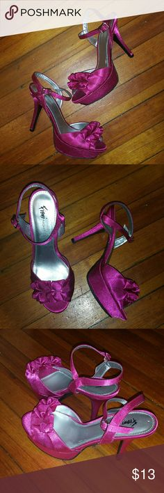 Dirty Dancing, Dancing Shoes Hot pink heels worn only once. Shoes Heels
