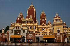 The Laxminarayan Temple is a Hindu temple dedicated to Laxminarayan in Delhi, India. Laxminarayan usually refers to Vishnu, Preserver in the Trimurti, also known as Narayan, when he is with his consort Lakshmi.