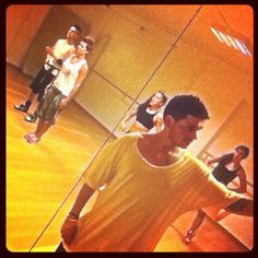 More work at the rehearsals for the biggest live show youve ever seen from me ;)