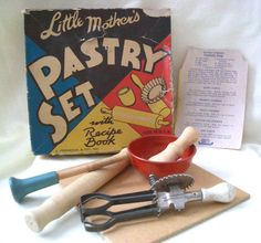 Vintage Toy Pastry Set