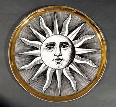 Large Vintage Piero Fornasetti Mezzi Soli Dish at https://www.1stdibs.com/furniture/dining-entertaining/platters-serveware/