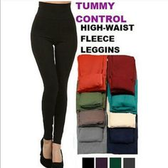 High Waisted Tummy Control Leggings ❤️ Hi Ladies! These Best Selling Leggings have a great stretch and super stylish! These Tummy Control leggings will definitely be you GO TO! The inside is Very soft and Comfortable! These Beautiful Leggings are designed to add Warmth & Style without bulking! Great with Tunics, Long Sweaters etc! 65% Polyester 20% Cotton 15% Spandex ❤️ Available in colors BLACK & OLIVE  PLEASE DO NOT PURCHASE THIS LISTING. MESSAGE BELOW THE COLOR YOU WOULD LIKE AND I WILL…