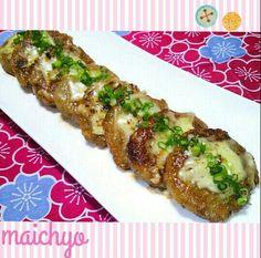 蓮根をすりおろして蓮根餅を作りました。 チーズものせてモチモチウマウマ♡ レシピは後でUPします(*^▽^*) - 199件のもぐもぐ - もっちり蓮根餅 by maichyo