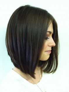 Fancy bob haircut for round face :: one1lady.com :: #hair #hairs #hairstyle #hairstyles
