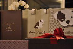 Embalagens elegantes Joy Paper www.joypaper.com.br