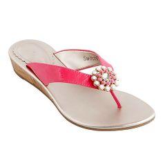 """Gwen"" SwitchFlop Snap-Shoe (Pink) / Lindsay Phillips"