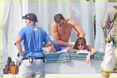 Shirtless Jamie Dornan & Bikini-Clad Dakota Johnson Film 'Fifty Shades' Beach Scene!: Photo #3704237. Jamie Dornan shows off his ripped shirtless body while filming the (spoiler alert) honeymoon scene for Fifty Shades Freed on Tuesday (July 12) in Saint-Jean-Cap-Ferrat,…